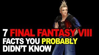 7 Final Fantasy VIII Facts You Probably Didn't Know