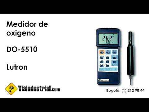 Medidor de oxigeno DO-5510 Lutron