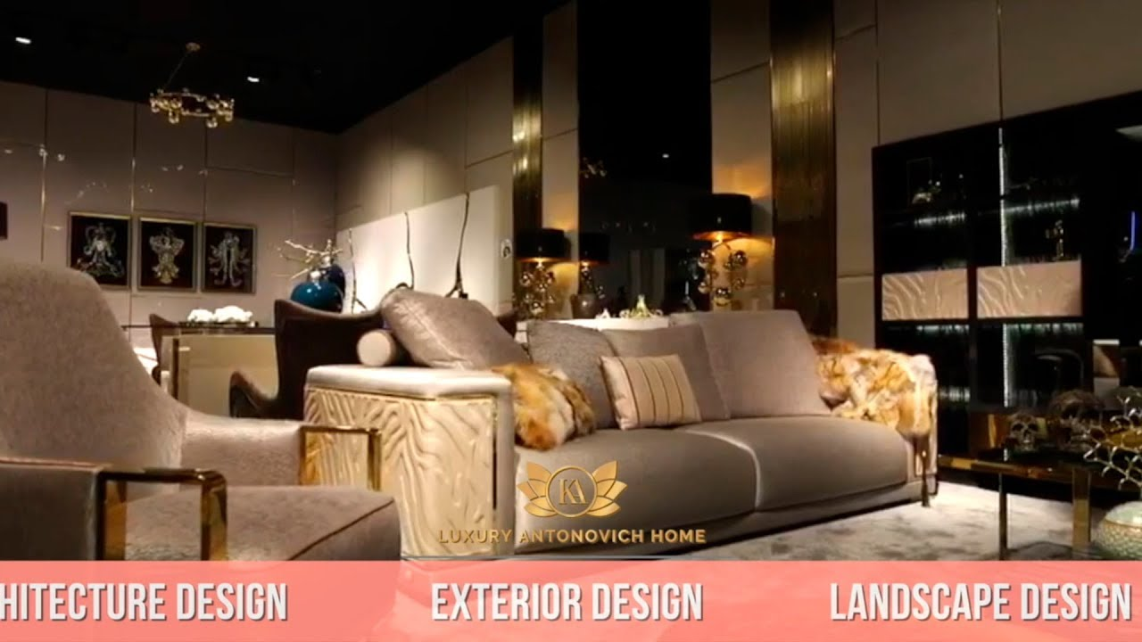 Bespoke Furniture Design — Luxury Antonovich Home!