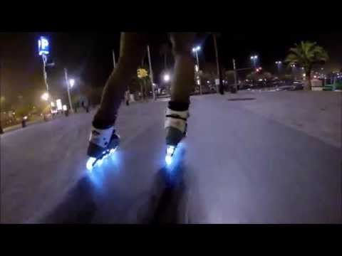 Lazerwheelz - Ruedas de Luz para patines en linea (Light Wheels)