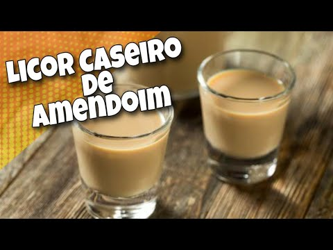 Licor de Amendoim cremoso