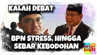 Download Video Prabowo Kalah Debat, BPN Stress Sampai Menyebar Hoaks, Keb(od)ohan Dan Keb(oh)ongan MP3 3GP MP4