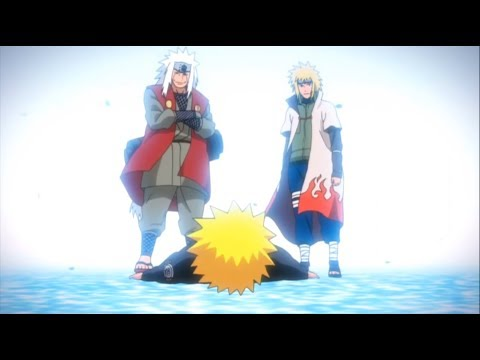Naruto Meets Minato And Jiraiya - English Dub