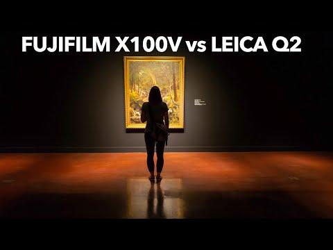 External Review Video evUQK7qZ3MY for Fujifilm X100V APS-C Compact Camera