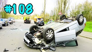 CAR CRASHES IN AMERICA. BAD DRIVERS USA AND CANADA | Crazy Drivers Car Crashes #108