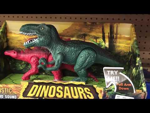 T-Rex toy with Godzilla voice