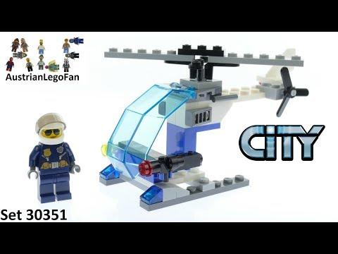 Vidéo LEGO City 30351 : Hélicoptère de police (Polybag)