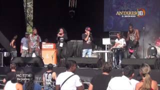 Mc Tita - Festival Unirock 2014. Antares El Mejor Rock