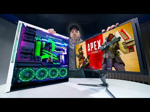 Apex Legends on an INSANE $12,000 Gaming PC