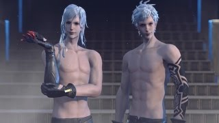 Nier Automata: Boss Fight #5 Adam and Eve (1080p 60fps)