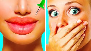 39 GIRLY HACKS    BEAUTY AND MAKEUP FAILS AND TRICKS