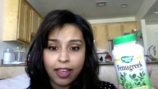 Fenugreek pills for Breastfeeding