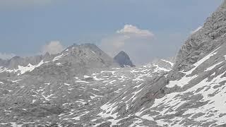 Live-Video: Schnee schmelzen auf dem Steinernen Meer