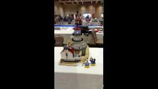 Point Reyes Lighthouse In LEGO At Bricks By The Bay 2014