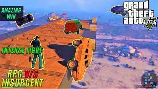 GTA V | Amazing RPG v/s Insurgents Funny Match With RON