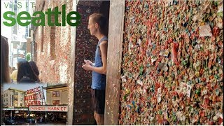 How To Get To The Market Theater Gum Wall | Seattle Pike Place Market