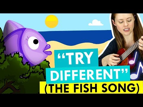 Try Different (The Fish Song) – A Song For ADHD Brains