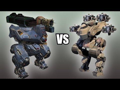 Boa (Thunder, Taran) vs Patton (Pinatas x4) - AnakinTEST #1 | War Robots