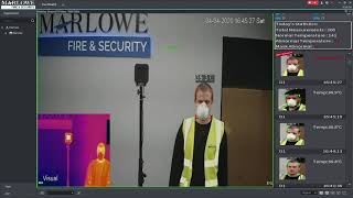 Video demonstration – testing our Fever Screening Thermal Cameras Solution