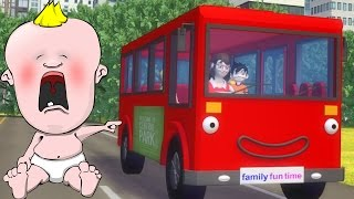 Wheels On The Bus - Famous Nursery Rhymes for Children