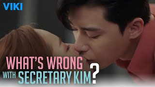 What's Wrong With Secretary Kim? - EP13 | Sensual Make Out Scene Interrupted [Eng Sub]