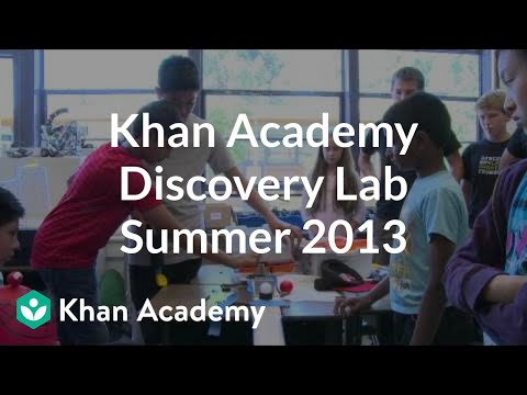 A thumbnail for: Discovery Lab 2013