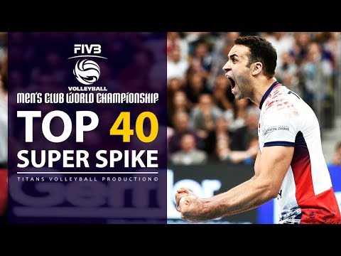 TOP 40 » Super Spike | Volleyball 2017 (HD)