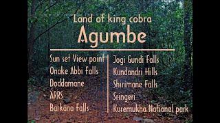 agumbe tourism karnataka