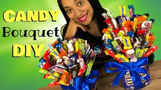 Candy Bouquet DIY | How To Make A Candy Bouquet