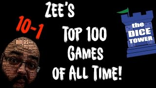 Zee's Top 100 Games of All Time - 10 to 1
