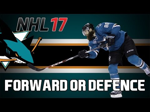 NHL 17 HUT: Brent Burns I Forward Or Defenceman?