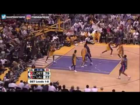 2004 NBA Finals – Pistons @ Lakers – Game 2 Best Plays