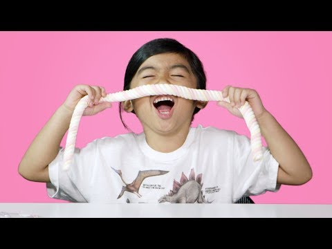Kids Try Snacks From Indonesia | Kids Try | HiHo Kids
