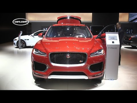2017 Jaguar F-Pace - First Look