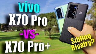 Vivo X70 Pro+ vs Vivo X70 Pro: Zeiss Cameras LET'S GO!