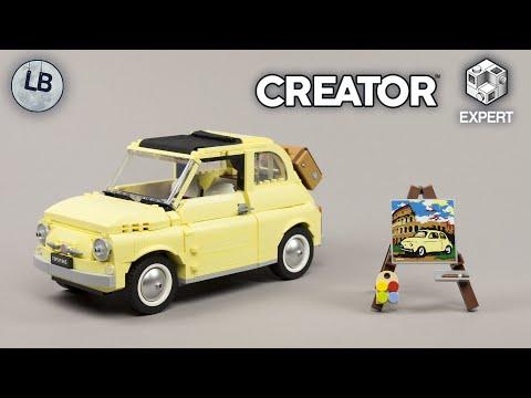 Vidéo LEGO Creator 10271 : Fiat 500