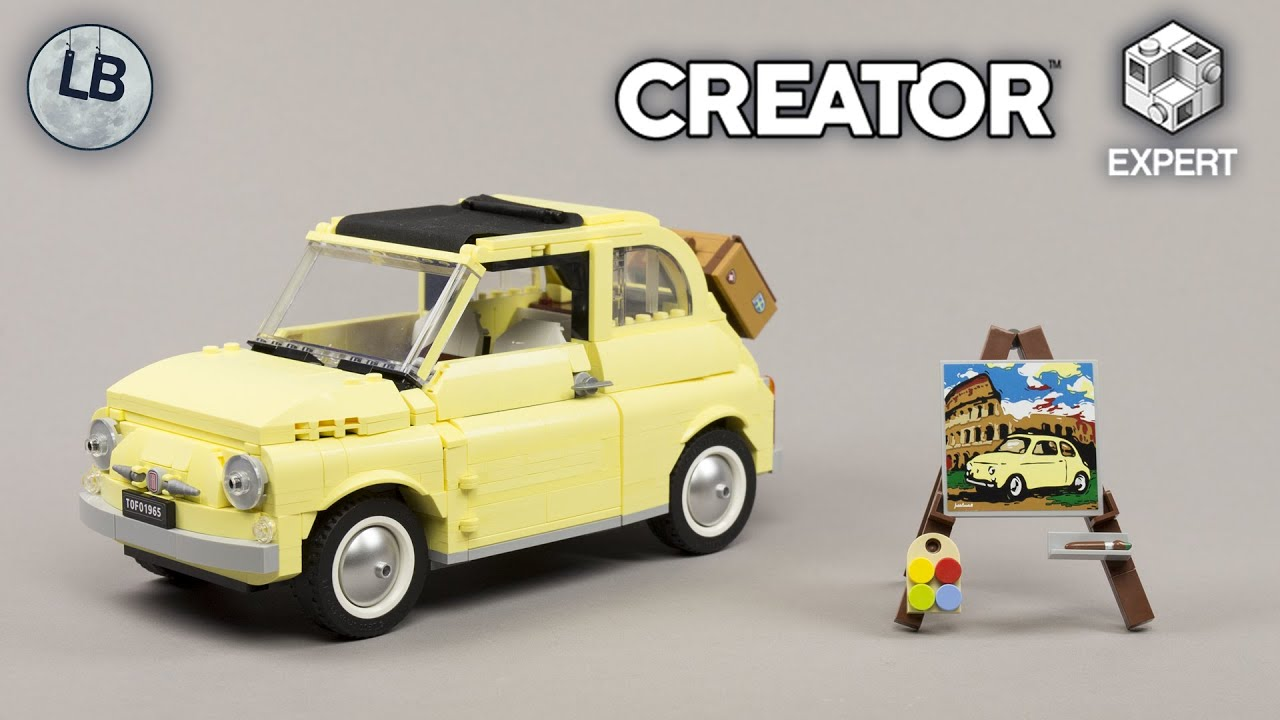 LEGO 10271 - Fiat 500 - Creator Expert - Speed Build Review