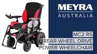 Elektrický invalidní vozík iChair MC2 RS 1.615 - iChair MC2 RS 1.615
