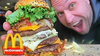 McDonald's Most Expensive Burger! - Video Youtube