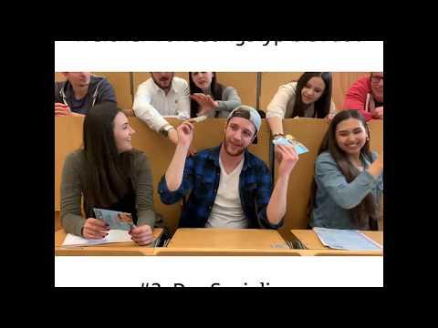 Die Studentenberater der Sparkasse Nürnberg: Welcher Vorlesungstyp bist du? Folge #1