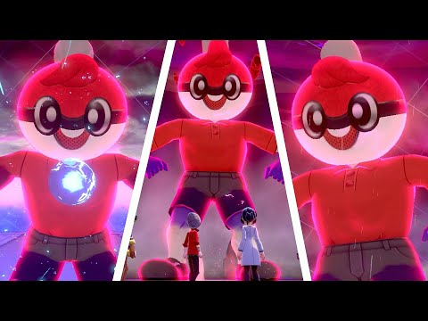Pokémon Sword & Shield - Ball Guy Raid Boss + Dynamax Moves