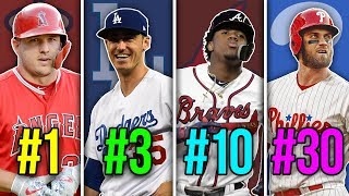 RANKING THE BEST PLAYERS IN MLB