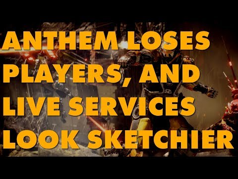 As Anthem's Playerbase Bleeds Out, The Problems With Live Services Become Obvious