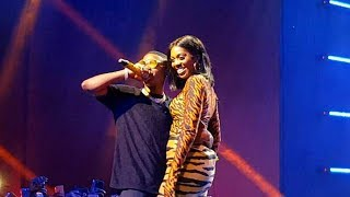 """Tiwa Savage And Wizkid Bring Fever On Stage At The """"Wizkid Exclusive Vip Experience"""""""