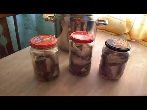 Рыбные консервы в скороварке  Самодельная подставка под банки