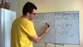 """Vysvětlení vzorce pro limitu posloupnosti typu jedna na nekonečno, vedoucí ve výsledku na """"e"""""""