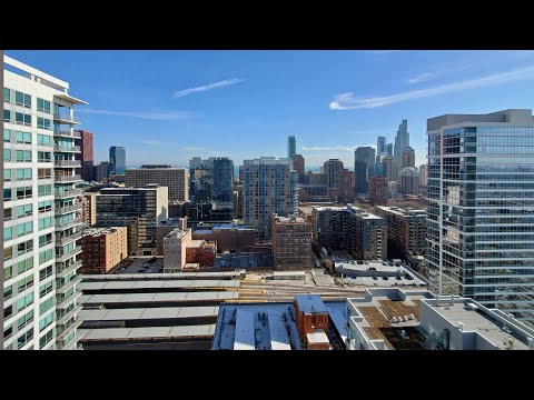 A South Loop 2-bedroom penthouse #2905 at the new The Cooper Southbank