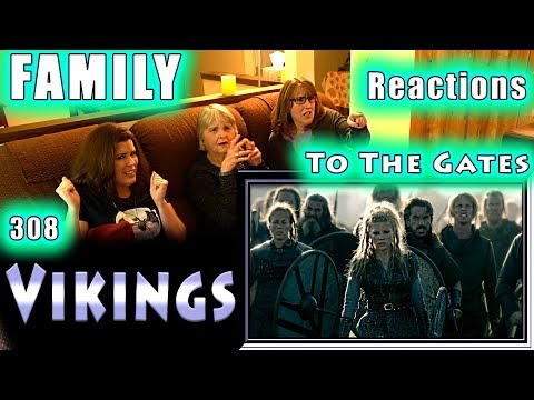 VIKINGS | 308 | To The Gates | FAMILY Reactions | Fair Use