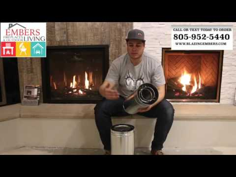What is a Direct Vent Gas Fireplace