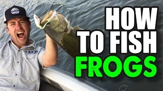 The Best How To Frog Fishing Tips